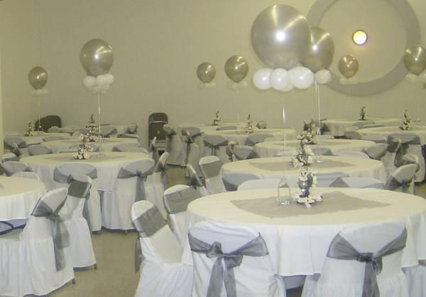 decoracion para bodas en plata