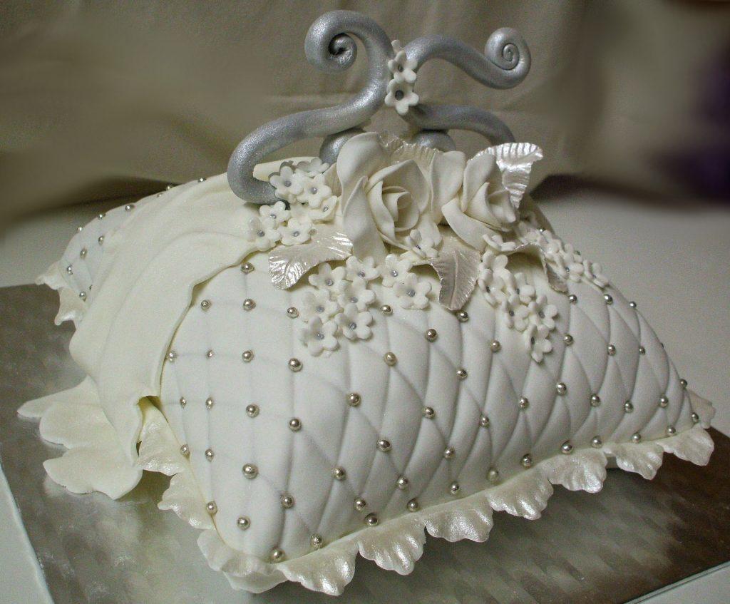 decoracion de tortas para bodas de plata