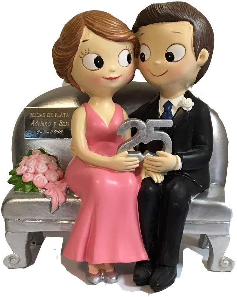 detalles para tortas de bodas de plata