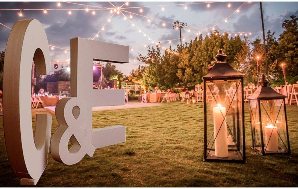 photocall para bodas de plata
