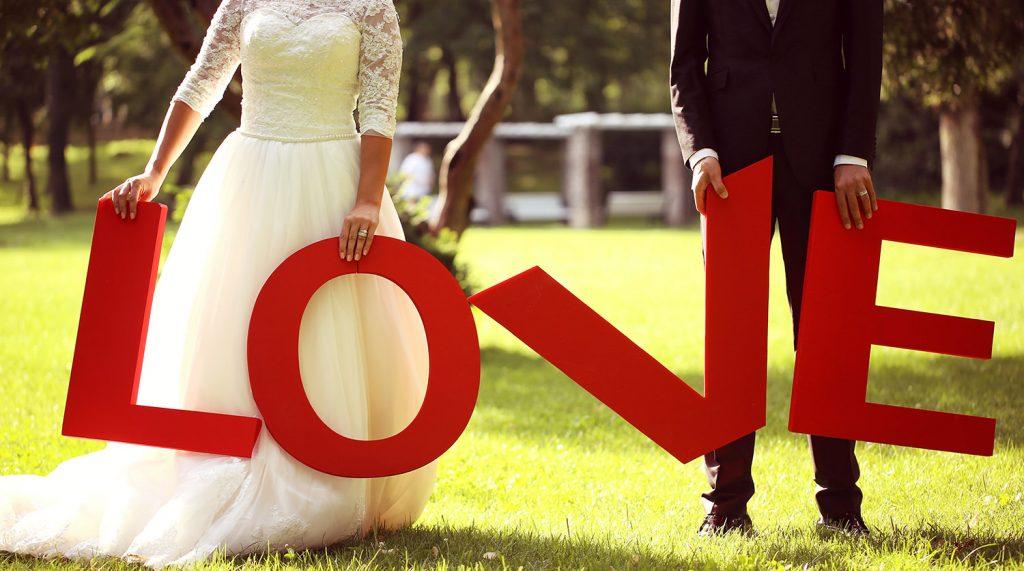 photocall boda diferente