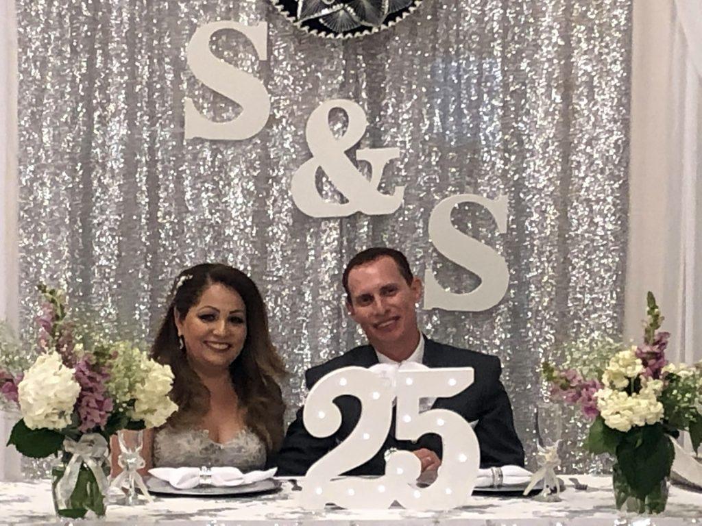 bodas de plata felicitaciones