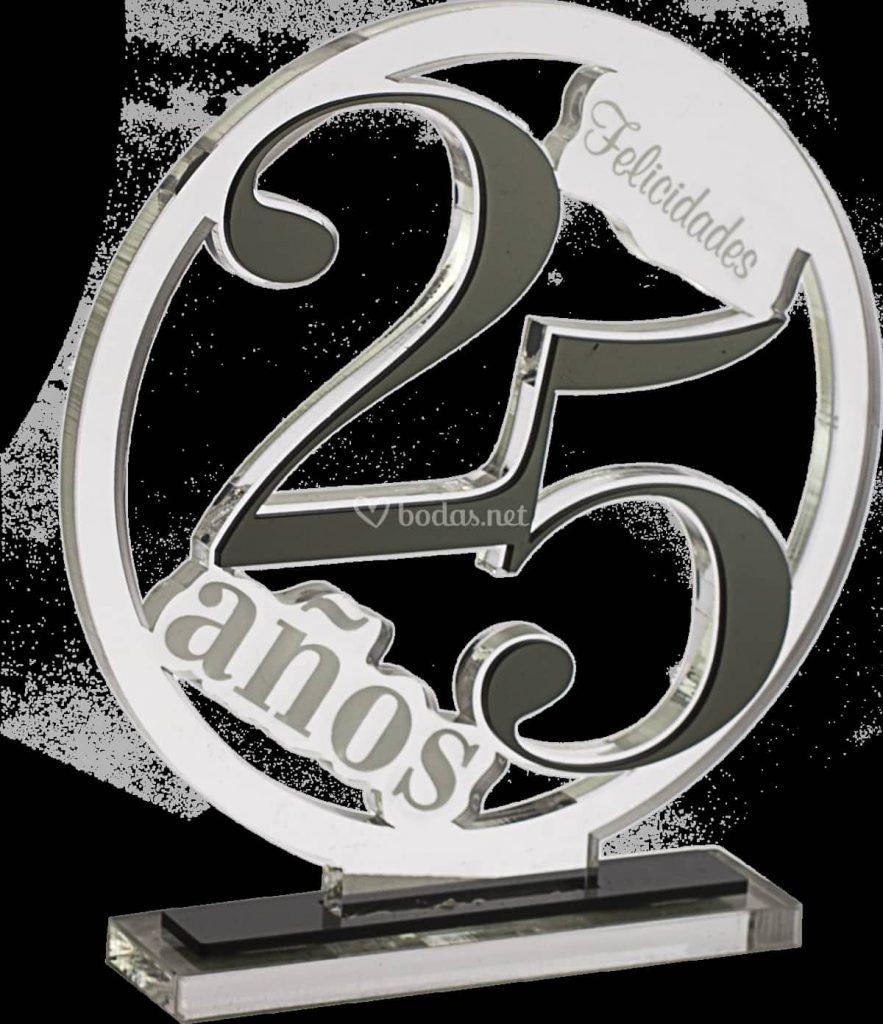 regalos 25 aniversario bodas de plata
