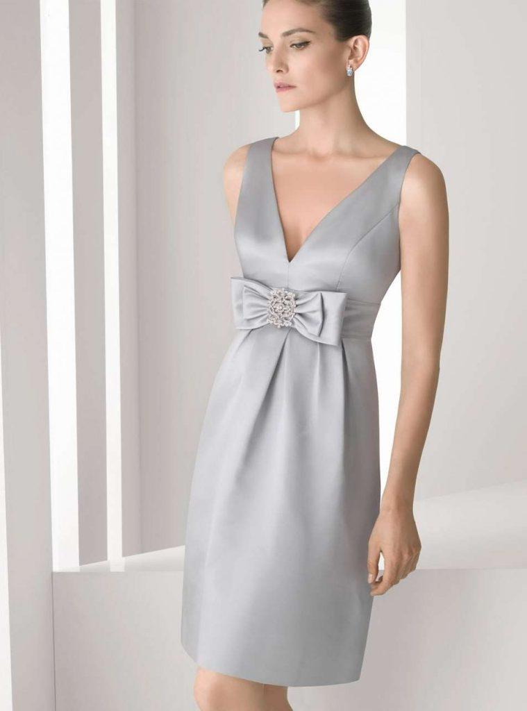 vestidos de novia cortos para bodas de plata